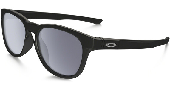 Oakley Stringer Glasses Matte Black w/ Grey